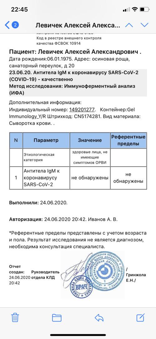 Антитела к COVID-19 - фото №3