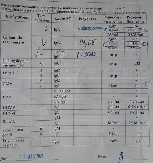 Лечение хламидиоза - фото №1